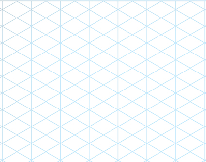 Isometric grid